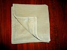 POTTERY BARN STONE WASHED VELVET (1) ZIPPERED THROW PILLOW COVER 20 X 20