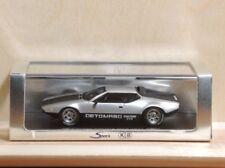 Spark Model for Kokusai Boeki KB S022 - De Tomaso Pantera GTS 1972 Silver 1:43