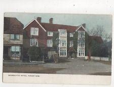 Brambletye Hotel Forest Row Sussex Vintage Postcard 563b