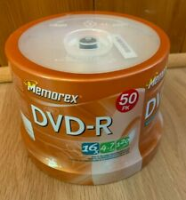 Memorex DVD-R 16X 4.7GB 120MIN New Sealed 50 Pack