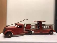 Vintage Buddy L Ride On Ladder Fire Truck