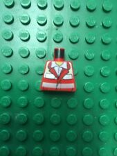 LEGO CORPO TRONCO BUSTO x OMINO Paramedico Ambulanza MINIFIGURE ROSSO 4431