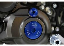 Works Connection BLUE Engine Plugs - Yamaha YZ250F 2019 & YZ450F 2010-19_ 24-596