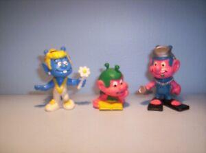 Smurfs Snicks x3 Alien girl with flower, Reading,frogman SJ503