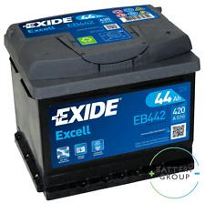 Exide 063SE EB442 12V 44Ah Car Battery -fits Alfa Audi Citroen Ford Lotus Nissan
