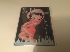 betty boop display wall sign picture plaque brand new collectable