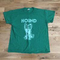 Vintage 70's Hound Papillon Dog Animal T-Shirt XL Single Stitch Russell Athletic