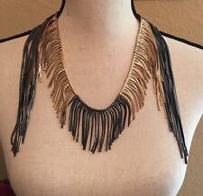 Signed ZARA Statement Costume Jewelry Necklace -