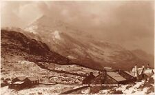 WALES UK~CRIB GOCH FROM LLANBERIS PASS~JUDGES #8498 PHOTO POSTCARD