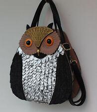Eulen Handtasche Uhu Fashion Damen Tasche Gaga Eye Catcher