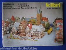 Kibri Model Railroad Catalogue HO, N, Z     1992/93