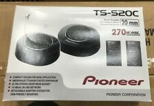 Pioneer TS-S20C 270 Watts 3/4-inch Component Tweeters with Crossover NEW