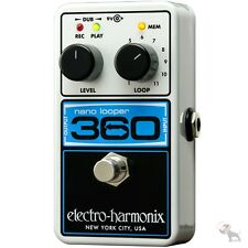 Electro-Harmonix Nano 360 Compact Looping Guitar Pedal Looper + Power Supply!