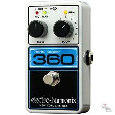 Electro-Harmonix Nano 360 Compact Looping Guitar Pedal Looper + Power Supply!