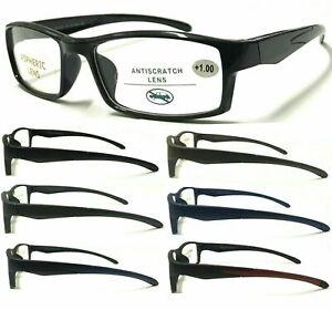 152 High Quality Men Sports Style Reading Glasses/Super Fashion Comfort Designed