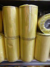 1Rollen Moiré Kranzschleifenband  Kranzband 150 mm zitrone