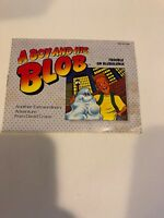 A Boy And His Blob (Nintendo, NES) Instruction Manual Booklet Only