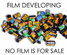 C41 35mm Film developing only  £2.40