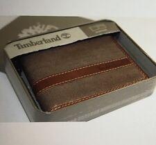 NWT Timberland Brown Men Bifold Wallet