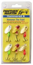 New Panther Martin Spinners Bait Hammered 6-Pack kit