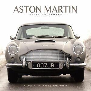Aston Martin Calendar 2022 Car Wall 15% OFF MULTI ORDERS!