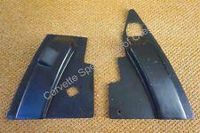 Original 65 66 Corvette Black Power Antenna Radio Access Side Trim Panels