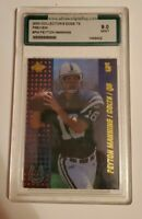 2000 PEYTON MANNING COLLECTORS EDGE T3 PREVIEW #PM INDIANAPOLIS COLTS AGC 9 MINT