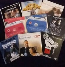 DVDs selection incl Talk Radio, Shawshank Redemption,Cookson,HowardsEnd,