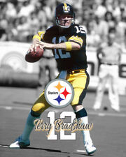 Pittsburgh Steelers TERRY BRADSHAW Spotlight Photo 8x10 #1 4 X SB CHAMPS
