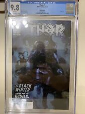 Thor 5 3rd Print CGC 9.8 First App Black Winter