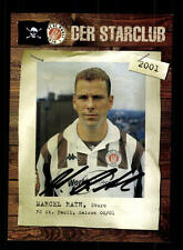 Marcel Rath Autogrammkarte FC St Pauli 2000-01 Original Signiert+A 129081
