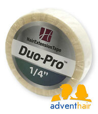 "Duo-Pro Hair Extension Tape Roll 1/4"" x 6 yds WALKER lace wig extensions"