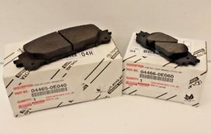 LEXUS OEM FACTORY FRONT AND REAR BRAKE PAD SET 2016-2019 RX350 RX450H