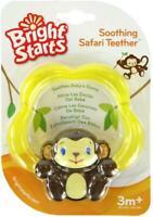 Bright Starts - Soothing Safari Teether - Baby Newborn Teething Ring - New