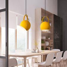 Kitchen Pendant Light Bar Pendant Lighting Bedroom Lamp Yellow LED Ceiling Light