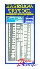 HASEGAWA Trytool TP-1 TEMPLET SET 1 AIRCRAFT Model Tool