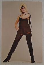 Blondie Debbie Harry 1980 Poster Pace Scotland Francesco Scavullo Photo