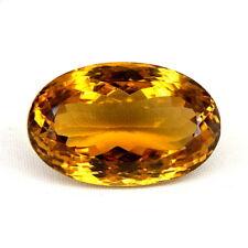 TOP CITRINE : 32,42 Ct Natürlicher Honig Gelb Bahia Citrin aus Brasilien