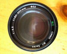 Cimko MT series MC F=80-200mm 1:4.5 for Pentax Camera Lens