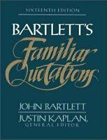 Bartlett's Familiares Citas Por Bartlett, Calzoncillos
