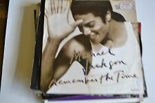 "MICHAEL JACKSON           REMEMBER THE TIME       7"" VINYL    FREE POSTAGE"
