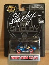 SHELBY COLLECTIBLES 1:64 DIE-CAST SHELBY COBRA 427 S/C RED TIRE CHASE