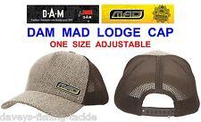 DAM MAD LODGE CAP TRUCKER STYLE HAT FOR CASUAL BIVVY COARSE CARP ROD POD FISHING