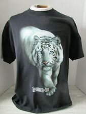 Vtg Siegfried & Roy The Mirage Las Vegas White Tiger T-shirt Size Large
