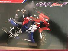 Honda CBR 600 F 1998 Brochure Prospekt Prospect GB DE FR IT
