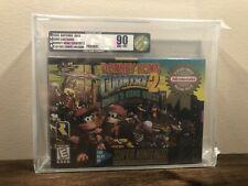 Donkey Kong Country 2 Players Choice - Super Nintendo SNES - NEW & SEALED H-SEAM