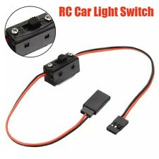 UK SELLER Light On/off Switch Wire Accessories for 1/10 1/8 RC Rock Crawler Car