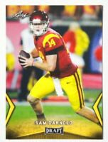 2018 Leaf Draft #54 Sam Darnold - Gold Rookie Card RC