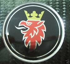 "2.5"" SAAB Black Griffin Hood Emblem replacement sticker decal 93 9-3 95 9-5 9-2X"
