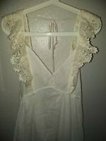 NWT Renamed Small White Crochet Gorgeous Dress